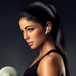Écouteurs Bluetooth sans fil  pour téléphone portable