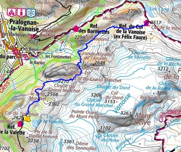 Refuge La Valette refuge du Col de la Vanoise