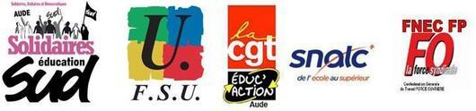 GRÉVE et MANIFESTATIONS MARDI 26 JANVIER pour une autre politique éducative !