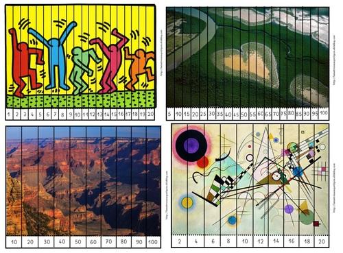 Puzzles numériques d'Un jour une oeuvre