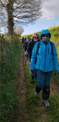 Mardi 6  : randonnée à Languenan
