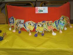 Activités et exposition du centième jour d'école: les photos!