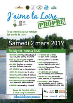 Opération j'aime la Loire propre.