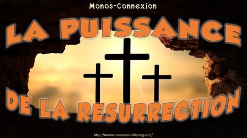 Calendrier Biblique - La puissance de la résurrection