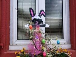 déco Pâques à l'école de Bethonvilliers