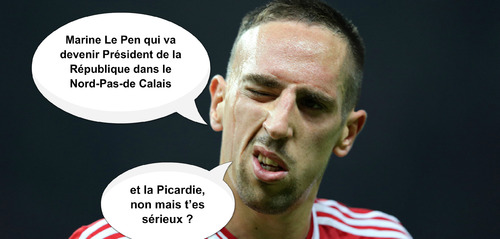 Franck Ribéry demande aux Français d'aller voter
