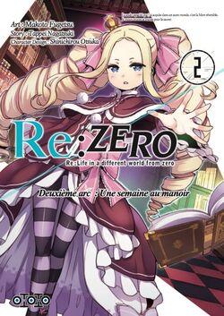 [Manga] Re:Zero Tome 2 Arc 2 : Une semaine au manoir