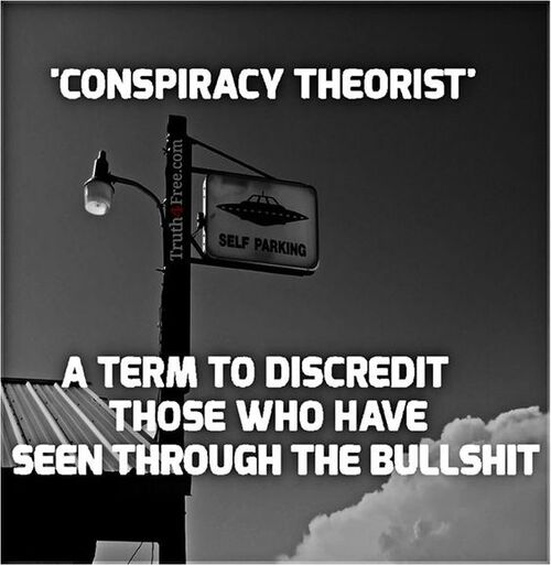 Conspiracy theorist.