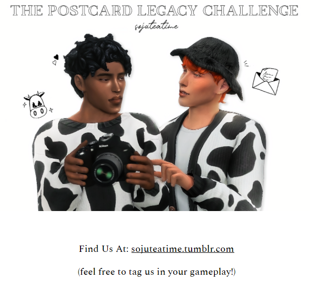 The Postcard Legacy Challenge by sojuteatime