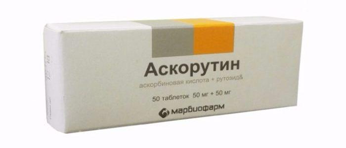 Аскорутин против геморроя