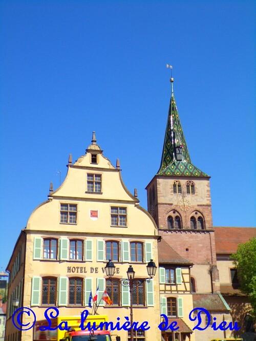 Turckheim, l'église Sainte Anne