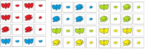 Je trie et classe des papillons