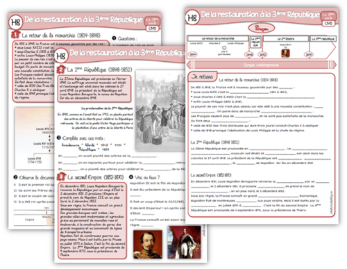 Histoire CM2 suite