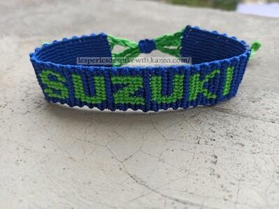 Bracelet Brésilien Alpha - SUZUKI (1)