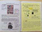 Cahier d'histoire d'une élève