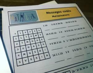 Multiplications - Messages codés