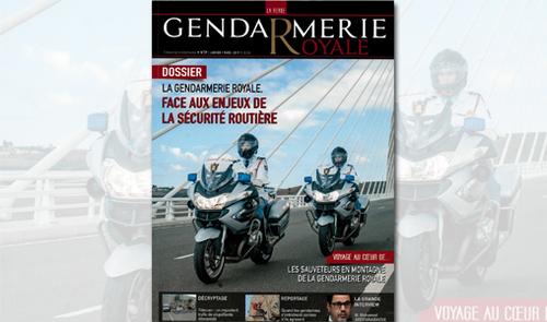 59ème numéro de la revue de la Gendarmerie Royale