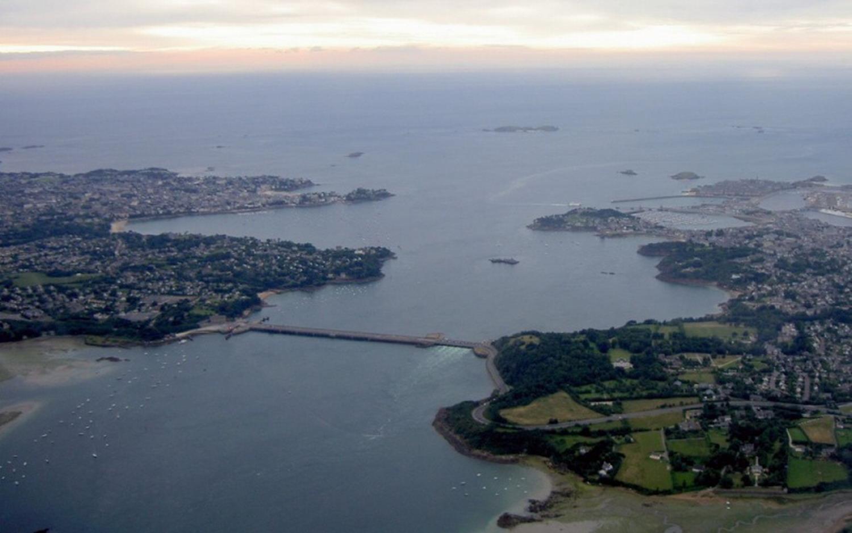 estuaire et barrage Rance