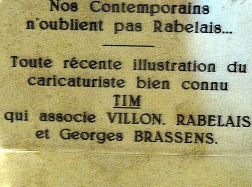Chez Rabelais à La Devinière