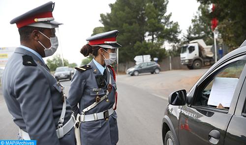 Rehamna : La Gendarmerie Royale hautement mobilisée pour imposer le respect du confinement