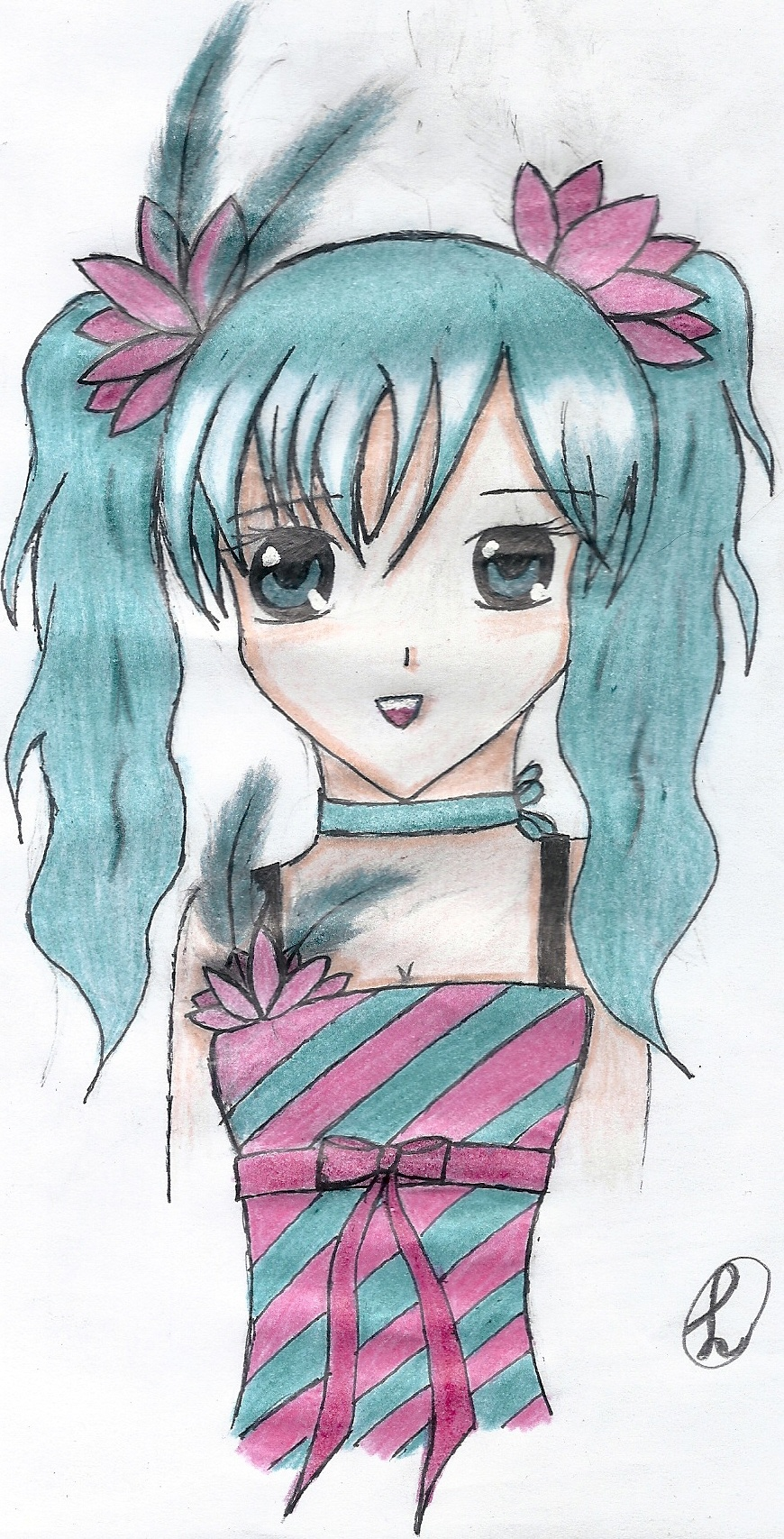 Dessin Fille Manga Dessin De Manga