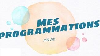 Programmations 2020-2021 - CM2