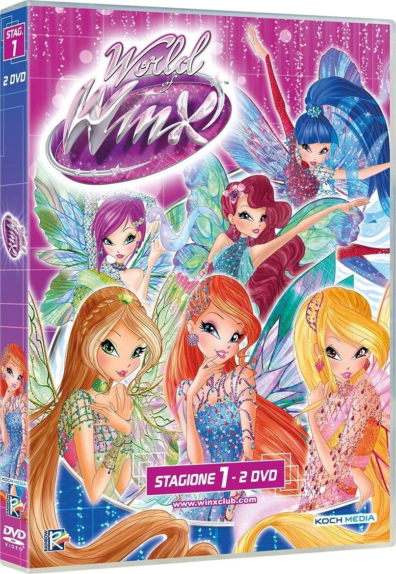 World of Winx : Visuel de l'intégrale DVD italien
