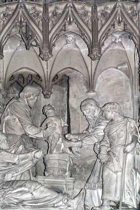 Circoncision de Jésus, cathédrale de Chartres.