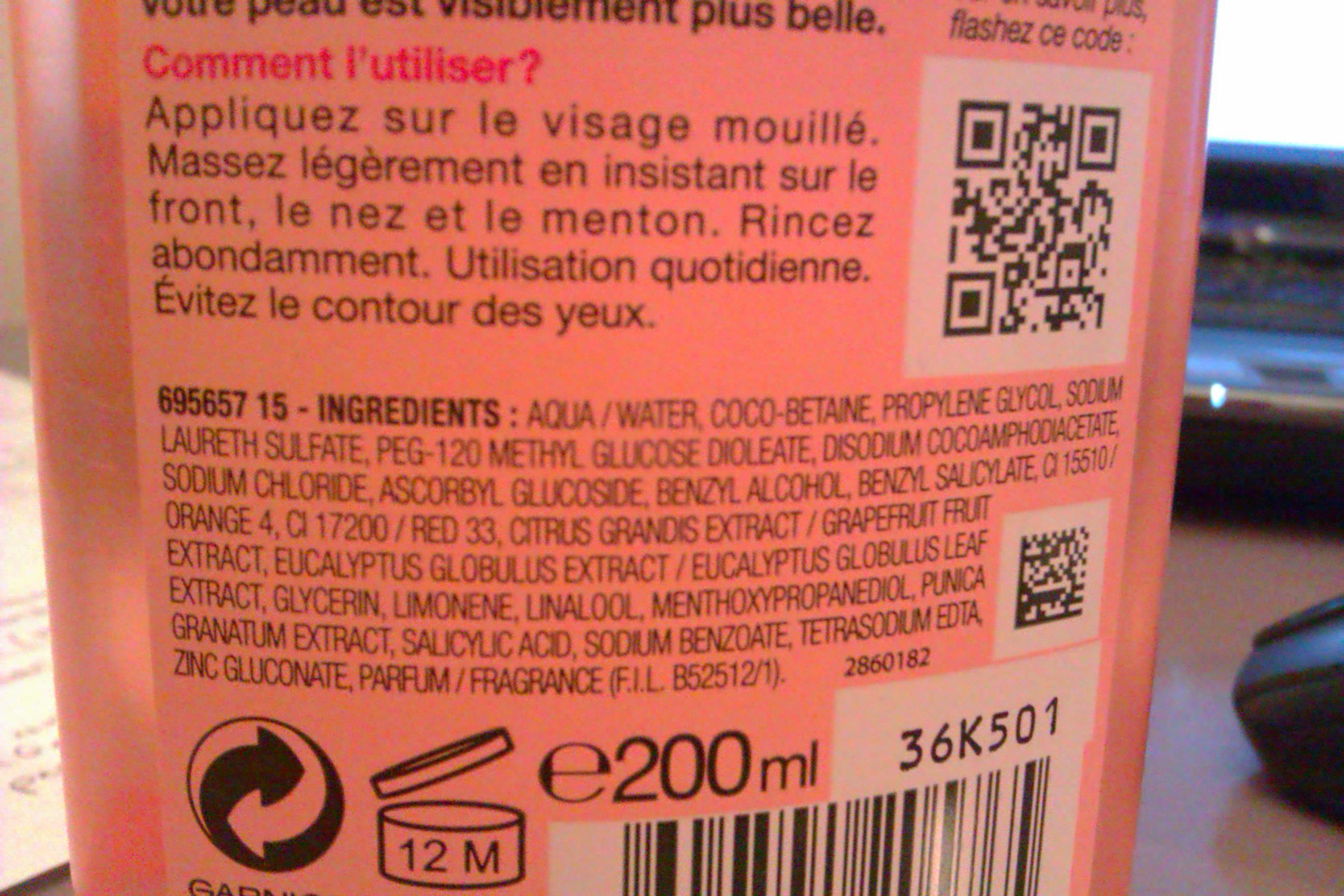 ingrédients naturels ou chimiques ?